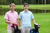 Golfers — Stock Photo