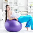 Fitball — Stock Photo