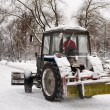 Snow removal - Foto Stock