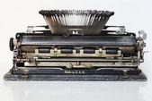 Ancient portable typewriter — Stock Photo