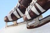 Vintage par de patines de mens — Foto de Stock