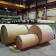 Stock Photo: Rolls of kraft paper
