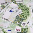 Stock Photo: Europe euros banknote of hundreds