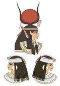 Anchient egypt art — Stock Vector