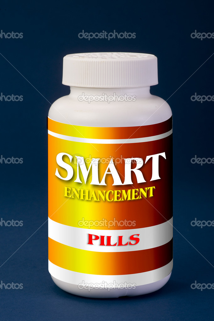 Smart pills take two daily. — Stock Photo #10310800