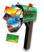 Mailbox. — Foto de Stock