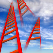 Ladders to heaven. — Stock Photo