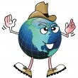 Cowboy Earth Man. — Stock Photo