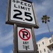 Speed Limit. — Stock Photo