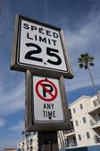 Speed Limit. — Stock fotografie