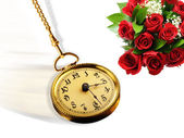 Hora de rosas. — Fotografia Stock