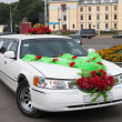 Wedding limousine — Stock Photo #8879824