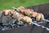 Maso připravené na grilu — Stock fotografie