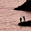 Two men fishing — Stock Photo #8752374