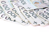 Polish money PLN — Stock Photo