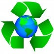 Eco earth - Stock Vector