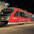 German red train - Stock Photo