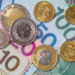 Pools geld — Stockfoto