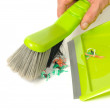 Brush and Dustpan - Stock Photo