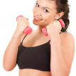 Fittnes young woman — Stock Photo #10055453
