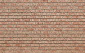 Background - red brick wall — Stock Photo