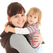 Mother with baby in her arms — Stock Photo