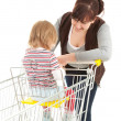 Royalty-Free Stock Photo: Shopping family