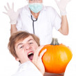 Stock Photo: Halloween joke