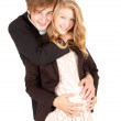 Royalty-Free Stock Photo: Pregnant couple
