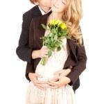 Pregnant couple — Stock Photo #9492662