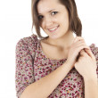Smiling young woman — Stock Photo