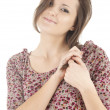 Smiling young woman — Stockfoto #9632000