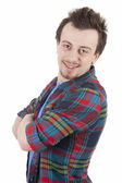 Cheerful young man — Stock Photo