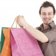 Shopping young man — Stock Photo #9760115