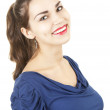 Happy young woman — Stock Photo #9938320