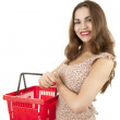 Shopping young woman — Stock Photo #9939166