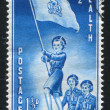 Stockfoto: Girl Guides Marching