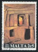 Hal Saflieni Catacombs — Stock Photo