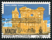 Old Church Birkirkara — Stock Photo