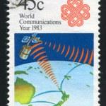 Постер, плакат: Satellite on the Orbit