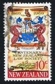 Coat of Arms of New Zealand Law Society — Stock Photo