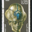 Pharaoh Amenhotep III - 图库照片