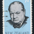 Winston Spencer Churchill - Stockfoto