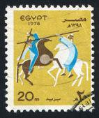 Tahtib Horse Dance — Stock Photo