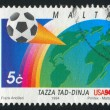 Stamp printed by Malta — Stock Photo