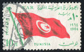 Flag Tunisia — Stock Photo