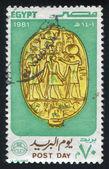 Emblème de scarabée — Photo