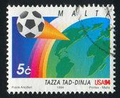 由马耳他印制的邮票 — 图库照片