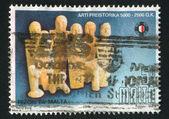 MALTA - CIRCA 1996: stamp printed by Malta, shows , Animals, circa 1996 — Stock Photo