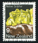 Native sulphur — Foto Stock